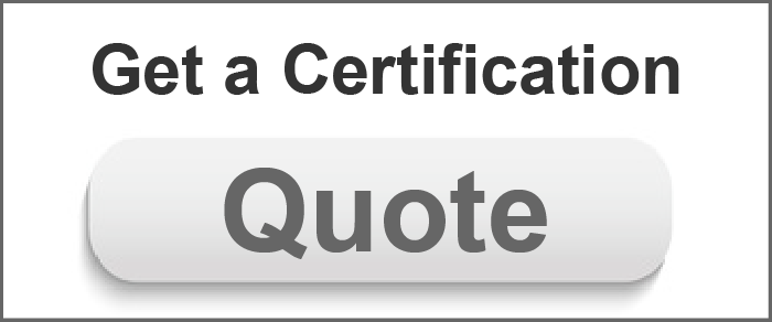 Get an ISO Certification Quote